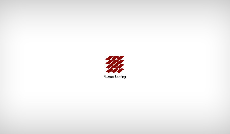 Custom Logo Design for Stewart Roofing