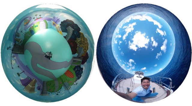 Get a Worldly View with Spherical Cameras