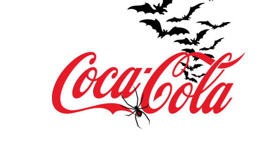 Big Brand Logos Get Spooky Makeovers