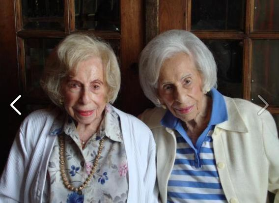 light fun twins1 Incredible World Record: Oldest Living Twins