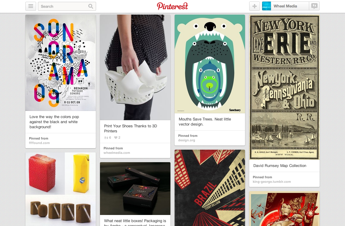 Wheel Media Loves Pinterest