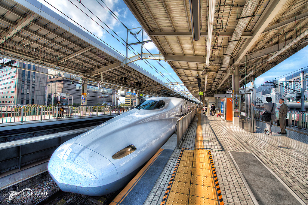 Construction on the CA Bullet Train Begins
