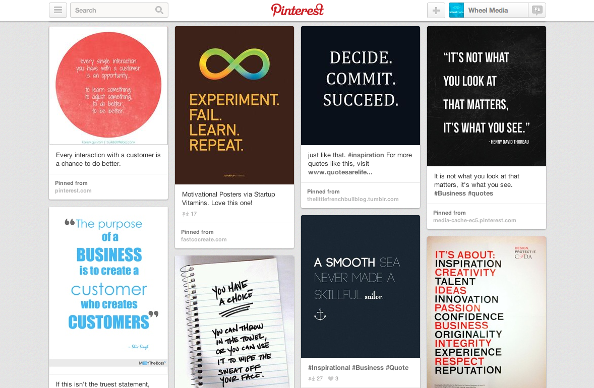 Love Pinterest? You're In Good Company with Wheel Media